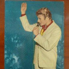 Fotos de Cantantes: JOHNNY HALLYDAY POSTAL ESPAÑOLA ORIGINAL ANTIGUA . Lote 108884919