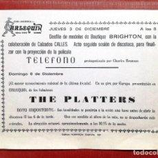 Fotos von Musikern - CLUB DISCOTECA ARLEQUIN CALAHORRA. ACTUACION THE PLATTERS - 108991779