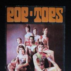 Fotos de Cantantes: POSTAL POP - TOPS AÑOS 80. Lote 109083847