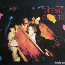 Fotos de Cantantes: POSTAL THE CURE CLOSE TO ME PRINTED IN ENGLAND. Lote 109084027