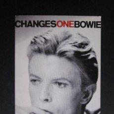 Fotos de Cantantes: POSTAL DAVID BOWIE CHANGES ONE BOWIE SNAPPY POP PICS PRODUCTIONS - MINI SERIES. Lote 109084291