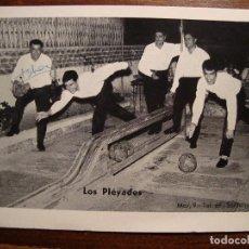 Fotos de Cantantes: GRUPO MUSICAL LOS PLÉYADES. SANTANYI. MALLORCA. 1966.. Lote 110017591