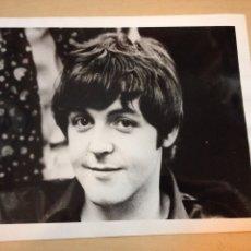 Fotos de Cantantes: THE BEATLES - FOTO DE PRENSA ORIGINAL DE PAUL MC CARTNEY. Lote 110820862