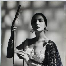 Fotos de Cantantes: F-3576. NATI MISTRAL.FOTO PARA PORTADA DISCO 1962, CANCIONES DE GARCIA LORCA.. Lote 111461335