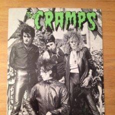 Fotos de Cantantes: THE CRAMPS. POSTAL.. Lote 111714759
