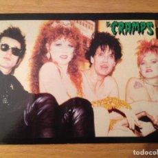 Fotos de Cantantes: THE CRAMPS. POSTAL.. Lote 111715339