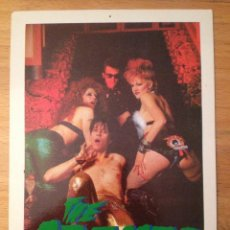 Fotos de Cantantes: THE CRAMPS. POSTAL.. Lote 111715411