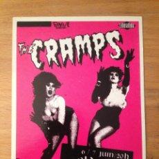 Fotos de Cantantes: THE CRAMPS. POSTAL.. Lote 215340145