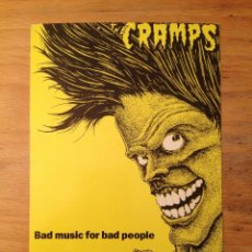 Fotos de Cantantes: THE CRAMPS. POSTAL.. Lote 111715815