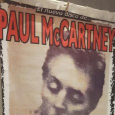 Fotos de Cantantes: PAUL MCCARTNEY - BEATLES - FLAMING PIE - ENORME POSTER- PROMOCIONAL- ESPAÑA - EXCELENTE ESTADO. Lote 111968347