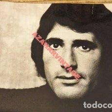 Fotos de Cantantes: ESPECTACULAR FOTOGRAFIA DE MIGUEL RIOS, 240X180MM. Lote 112898311