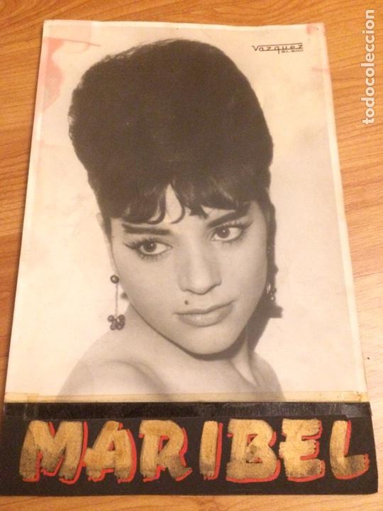 FOTOGRAFÍA CANTANTE MARIBEL (Música - Fotos y Postales de Cantantes)