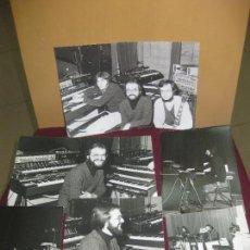 Fotos de Cantantes: NEURONIUM (CARLOS GUIRAO, MICHEL HUYGEN,ALBERT GIMENEZ) 8 FOTOS ORIGINALES.. Lote 116327827