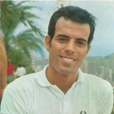 Foto di Cantanti: POSTAL JULIO IGLESIAS - FOTO MERIDIANO BERGAS Nº 821 - EDITADA EN 1968 - ESCRITA. Lote 117225407