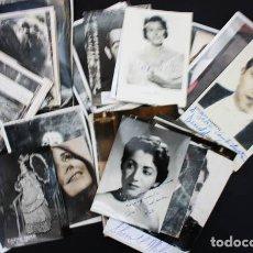 Fotos de Cantantes: IMPRESIONANTE LOTE 80 FOTOS POSTALES DE CANTANTES DE OPERA AUTOGRAFIADAS AUTOGRAFO VER DESCRIPCION. Lote 117282803