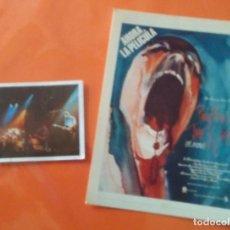 Fotos de Cantantes: PINK FLOYD FOTO PELÍCULA THE WALL + CROMO. Lote 121534520