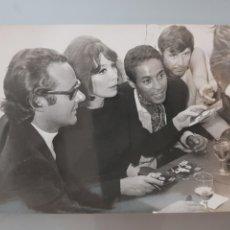 Fotos de Cantantes: ANTIGUA FOTO ORIGINAL INEDITA JULIETTE GRÈCO 13X18CM AÑOS 60'. Lote 118435360