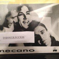 Fotos de Cantantes: FOTO PROMOCIONAL MECANO ARIOLA 18 X 24 CM, NUEVA. Lote 165974494