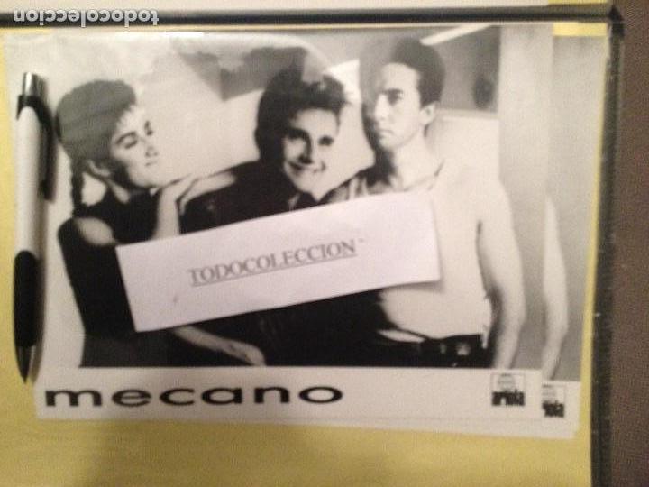 FOTO PROMOCIONAL MECANO ARIOLA 18 X 24 CM, NUEVA (Música - Fotos y Postales de Cantantes)