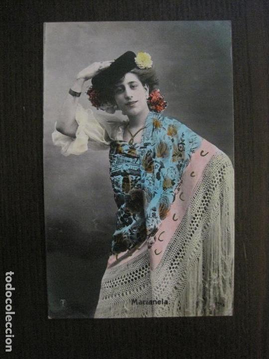 MARIANELA -POSTAL ANTIGUA CUPLETISTAS FOTOGRAFICA-VER FOTOS-(52.875) (Música - Fotos y Postales de Cantantes)