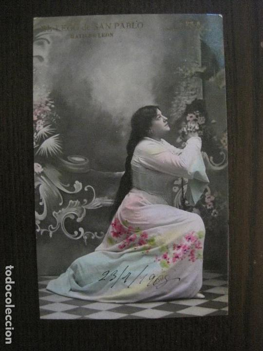MATILDE LEON -POSTAL ANTIGUA CUPLETISTAS FOTOGRAFICA-VER FOTOS-(52.876) (Música - Fotos y Postales de Cantantes)