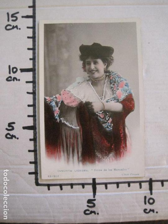 Fotos de Cantantes: CONCHITA LEDESMA -POSTAL ANTIGUA CUPLETISTAS FOTOGRAFICA-VER FOTOS-(52.879) - Foto 4 - 120351895