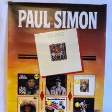 Fotos de Cantantes: PAUL SIMON, GIRA GRACELAND POR ESPAÑA (1990). CARTEL ORIGINAL. SAN SEBASTIÁN, BCN Y MÁLAGA.49X69CMS.. Lote 120612987