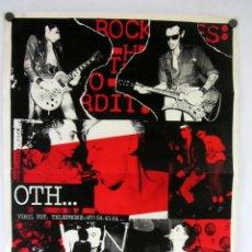 Fotos de Cantantes: O.T.H. CARTEL PROMOCIONAL DE LA BANDA PUNK ROCK FRANCESA (FINALES AÑOS 70).. Lote 121336495