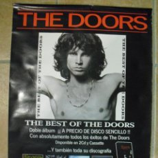 Fotos de Cantantes: THE DOORS: POSTER ORIGINAL DE TIENDA-COLECCIONISTAS. Lote 121558731
