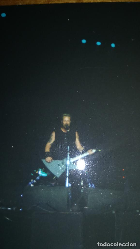 Fotos de Cantantes: FOTOGRAFIA ORIGINAL DE JAMES HETFIELD - METALLICA - Foto 2 - 126035259