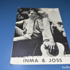 Fotos de Cantantes: DISCOGRAFIA MUSICAL - CANTANTE INMA & JOSS - DISCOS COLUMBIA. Lote 127779807