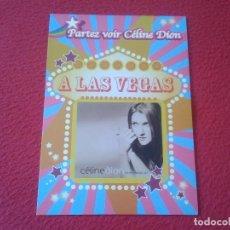 Fotos de Cantantes: POSTAL POST CARD CARTE POSTALE CANTANTE SINGER CÉLINE DION CÉLÍNE DÍON A LAS VEGAS NEVADA USA VER FO. Lote 127821487