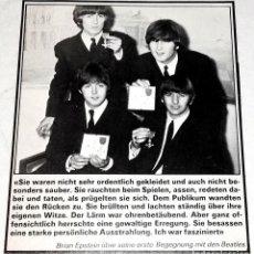 Fotos de Cantantes: ANTIGUA FOTOGRAFÍA DE THE BEATLES - EXTRAÍDA DE REVISTA 1976 - 11,5X9,5CM. Lote 128090443