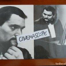 Fotos de Cantantes: WALDO DE LOS RIOS 2 FOTOS ORIGINALES ANTIGUAS AÑOS 70 . Lote 128240907