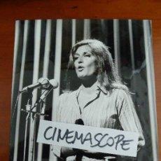 Fotos de Cantantes: DALIDA FOTO ORIGINAL ANTIGUA AÑOS 60 . Lote 128281159