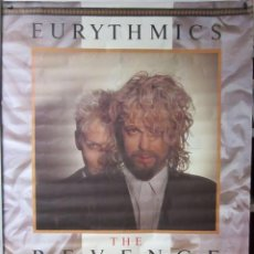 Fotos de Cantantes: EURYTHMICS. CARTEL PROMOCIONAL THE REVENGE TOUR 1987.RCA.. Lote 128432931