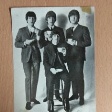 Fotos de Cantantes: TARJETA POSTAL THE BEATLES DISCOGRAFICA ODEON. Lote 128703647