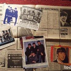 Fotos de Cantantes: RECORTES DE REVISTA (CLIPPING) - LOTE DE RECORTES DE THE BEATLES 10 HOJAS EN COLOR PEQUEÑOS. Lote 131992434