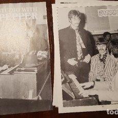 Fotos de Cantantes: RECORTES DE REVISTA (CLIPPING) - THE BEATLES -DE LA REVISTA RECORD COLLECTOR #233 SGT PEPPER. Lote 132003978