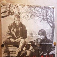 Fotos de Cantantes: POSTER DUNCAN DHU - PIEDRAS. FOTO FIN COSTELLO. GASA. 40 PRINCIPALES. AÑO 1994. GRAN TAMAÑO 2 X 1,40. Lote 132199970