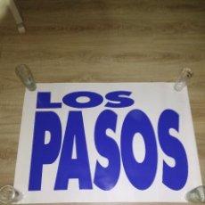 Fotos de Cantantes: LOS PASOS / ORIGINAL CARTEL DE EPOCA. Lote 132583174