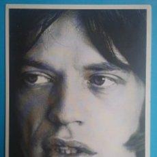 Fotos de Cantantes: MICK JAGGER POSTAL THE ROLLING STONES AÑOS '80. Lote 132916010
