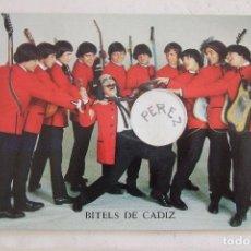 Fotos de Cantantes: BEATLES POSTAL BITELS DE CADIZ NUEVA SIN CIRCULAR OSCARCOLOR 571. Lote 134284530
