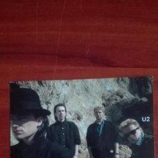 Fotos de Cantantes: U2 POSTAL DE 1986 EN SUS INICIOS . Lote 135518210
