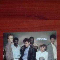 Fotos de Cantantes: SIMPLY RED POSTAL EN SUS COMIENZOS 1986. Lote 135518382