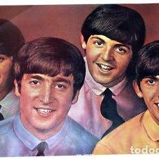 Fotos de Cantantes: POSTER THE BEATLES. CARTEL62,5 X 95 CM. RINGO STARR, JOHN LENNON, PAUL MC CARTNEY, GEORGE HARRISON. Lote 135610414
