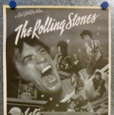Fotos de Cantantes: THE ROLLING STONES / LET'S SPEND THE NIGHT TOGETHER - POSTER . AÑO 1982. Lote 137347946