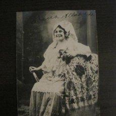 Photos de Chanteurs et Chanteuses: MARIA ALBAREDA - POSTAL FOTOGRAFICA ANTIGUA - VER FOTOS - (54.104). Lote 139470318