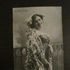 Photos de Chanteurs et Chanteuses: LA MARIUCHA - POSTAL FOTOGRAFICA ANTIGUA - VER FOTOS - (54.125). Lote 139473234