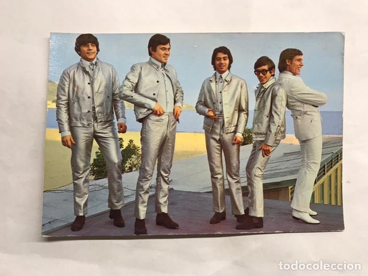 LOS BRAVOS. GRUPOS MUSICALES. POSTAL NO.25 C. EDITA: EDICIONES ESTE (A.1967) (Música - Fotos y Postales de Cantantes)